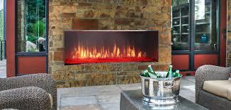 outdoor ventless gas fireplace insert vent free lanai linear outdoor ventless gas fireplace insert
