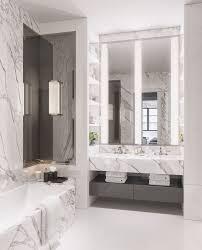 20 Clever Pedestal Sink Storage Design Ideas. Grey Marble BathroomMarble ...