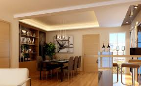 house and home dining rooms. Modern Style House And Home Dining Rooms Room Bar Rendering Download D E