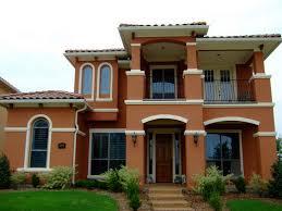 orange paint color for house exterior