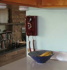 on the other side of the kitchen check out our new crosley wall phone