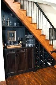 basement stairs storage. Reading Nook Under Basement Stairs Storage Medium  Size Of Wine .