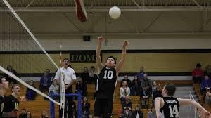 Avery Ward Impacts Varsity Boys Volleyball - YouTube