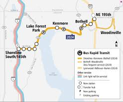 Lynnwood Light Rail Bothell Expresses Concerns With Bus Rapid Transit Plans
