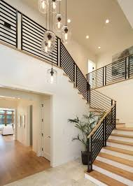 modern stairwell lighting. contemporary home with neutral palette and luxury touches modern stairwell lighting