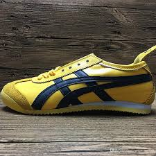 asics tiger bruce lee flat shoes running shoes mens and womens comfortable leather zapatillas athletic outdoor sport sneakers eur 36 44