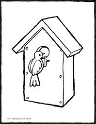 Nestkastje Met Vogel Kiddicolour