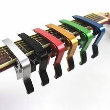 <b>High Quality</b> Aluminium <b>Alloy Metal</b> New Guitar Capo Quick Change ...