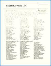 Resume Terms Resume Cv Cover Letter