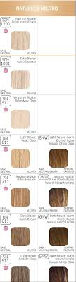 Color Charm Hair Color Chart Wella Color Charm Chart Neutral Blond Levels 10 5 Wella
