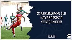 Giresunspor ile Kayserispor yenişemedi!