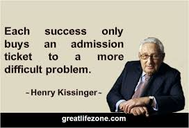 Henry Kissinger Quotes Delectable Definition Of Success By Henry Kissinger GREAT LIFE ZONE