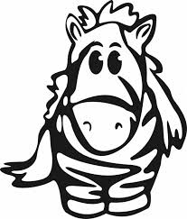 Small Picture Cute Baby Zebra Coloring Page Download Print Online Coloring