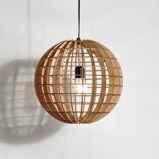 wood lighting. Hemmesphere Wooden Pendant Lamp Wood Lighting