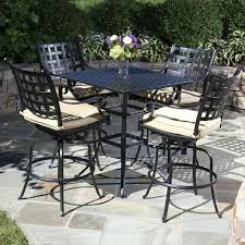 bar height patio dining set decorating bar height patio dining tall table outdoor furniture clearance bar