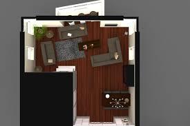 Slaapkamer Inrichten Plattegrond Minimalistische 3d Plattegrond