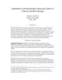 Purpose Of Descriptive Research Design Pdf Qualitative And Quantitative Research How To Choose