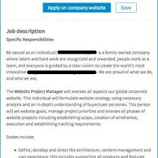 Ecommerce Job Descriptions Digital Marketing Manager On Hire Downld My Cv Ecommerce Specialis