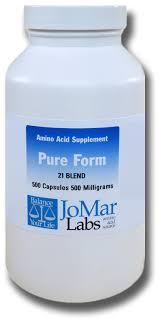 jo mar labs amino acids black label pure form 21 blend amazon com pure form 21 blend amino acids a lactose free
