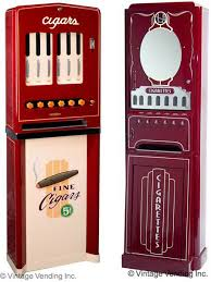 Old School Cigarette Vending Machine Gorgeous 48 Rare Vintage Candy Gum Cigarette Vending Machines