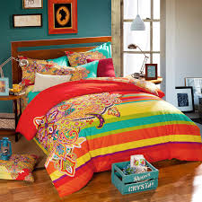 colorful bed sheets. Image Of: Bohemian Bedding Collections Colorful Bed Sheets W