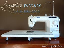 A Quilter's Review of the Juki 2010 - 13 Spools &  Adamdwight.com