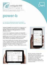 Formati Brochure Brochure Powerb