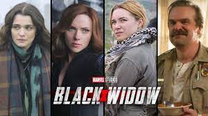 Black Widow Movie Cast & Character ...