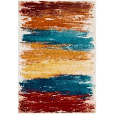 surya pepin bright blue 2 ft x 3 ft indoor area rug