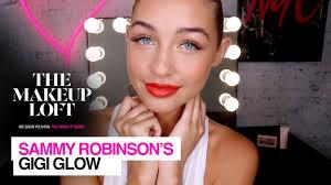 sammy robinson x the gigi collection the makeup loft maybelline new york