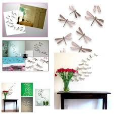 Dragonflies Wall Decor Umbra Set 20 Plastic Wallflutter Dragonfly Dragonflies Wall Decor