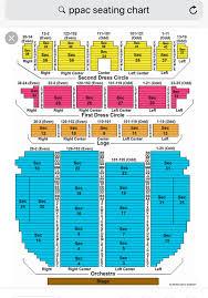 Ppac Seating Chart Ppac Seating Chart In 2019 Seating Charts Diagram Chart