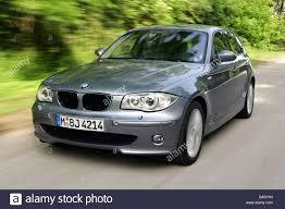 Car, BMW 120i, 1st BMW, model year 2004-, silver, medium class ...