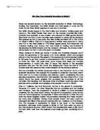 introduction of the industrial revolution essay the impacts of the industrial revolution in england history essay