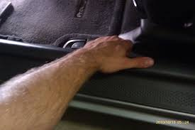 how to install bussmann fuse panel step 3 remove left kick panel there is a friction plug up front behind the clutch pedal to remove it use your finger nail or a small flathead screw
