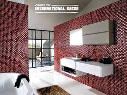 bathroom mosaic tile designs. Mosaic Bath Tiles Bathroom Tile Designs New At Modern Bathrooms Interesting Glass Wall Australia