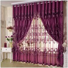 Printed Curtains Living Room Floral Pattern Room Curtains