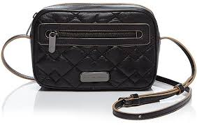 Marc by Marc Jacobs Crossbody Sally Moto Quilted | Where to buy ... & ... Black Quilted Leather Crossbody Bags Marc by Marc Jacobs Crossbody  Sally Moto Quilted ... Adamdwight.com
