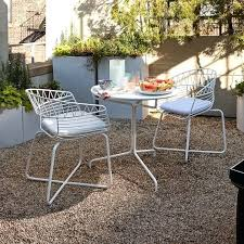 metal outdoor bistro dining set table 2 chairs sets ikea