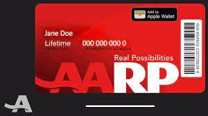 AARP digital membership card ...
