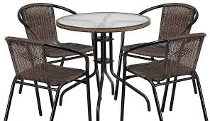 wooden sets table and bistro metal margaritaville outdoor set chairs indoor patio wicker garden chair small