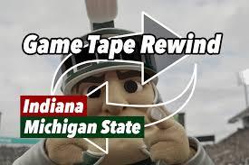 Game Tape Rewind Indiana Hoosiers Football Versus Michigan