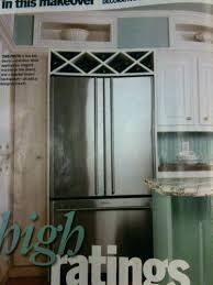 wine rack cabinet above fridge. Wine Rack Refrigerator Kitchen Cabinets Over Cabinet Above Fridge