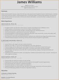 Sample Nursing Assistant Resume Certified Nursing Assistant Resume Objective Examples