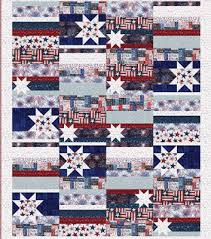 Quilt Inspiration: Free pattern day: Patriotic and flag quilts & Patriotic Primer quilt, 56 x 72