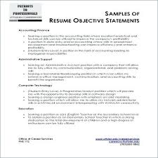 general job objective resume examples examples of objective in a resume new job objective resume examples