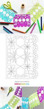Papel Picado Designs For Day Of The Dead Day Of The Dead Printable Papel Picado Papel Picado Day
