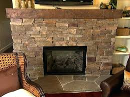 lovely stacked stone fireplace or 99 stacked stone fireplace diy