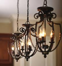 wrought iron light fixtures