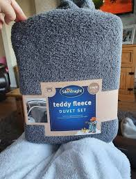 tesco is ing its teddy fleece duvet